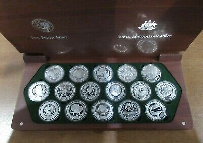 £1099.99 • Buy 2000 Sydney Olympic Silver Proof 16 Coin Collection From RAM .999 AG Boxed&COA