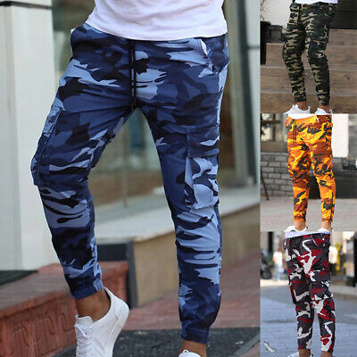 £15.99 • Buy Mens Camouflage Camo Jogging Pants Tracksuit Bottoms Joggers Trousers Sweatpants