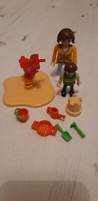 Playmobil Easter Egg 4939 Toy With Play Set - No Egg- Spring Bit Bent • 0.99£