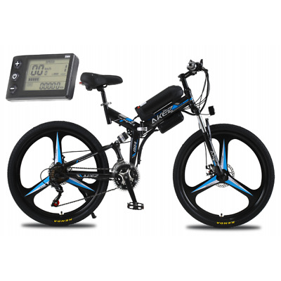AU1299 • Buy Fast Ebike Speed Suspension Motorised Portable Compact Electric Bicycle LCD 26
