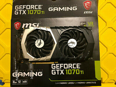 $ CDN569.47 • Buy MSI GeForce GTX 1070 TI Titanium 8 GB Graphic Card