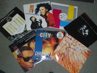 7 X 12   Inner City Vinyl Record Collection..     OLD SKOOL HOUSE CLASSICS!! • 11.99£