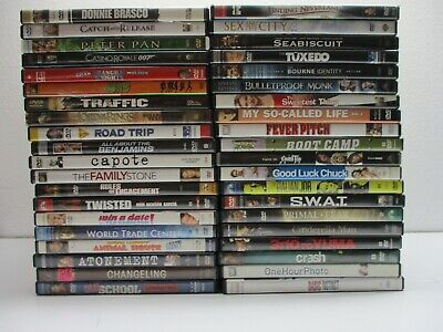$ CDN21.05 • Buy Wholesale Lot Of 40 Assorted ***( Various Genres )*** DVDs & DVDs Movies (S#800)
