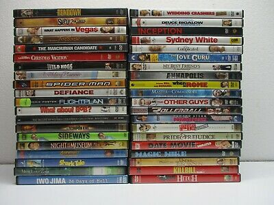 $ CDN19.78 • Buy Wholesale Lot Of 40 Assorted ***( Various Genres )*** DVDs & DVDs Movies (T#100)