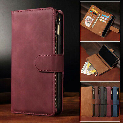 AU18.69 • Buy For IPhone 12 11 Pro Max Mini XS XR 7 8 Plus Case Wallet Leather Card Flip Cover