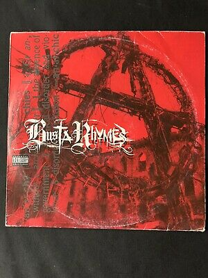 Busta Rhymes - Anarchy Dbl Vinyl Lp. Hip Hop. Original 2000 Pressing. • 15.99£