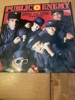 "PUBLIC ENEMY Bring The Noise DEF JAM 1987 UK 651335 6 VINYL 12"" HIP HOP EX • 2.60£"
