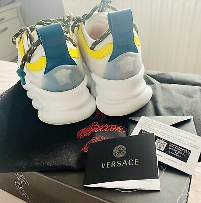 £450 • Buy Versace Chain Reaction Trainers