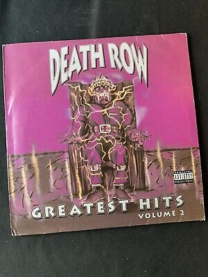 Death Row - Greatest Hits Volume 2. Dbl Vinyl Lp. Hip Hop. 1992. • 35£