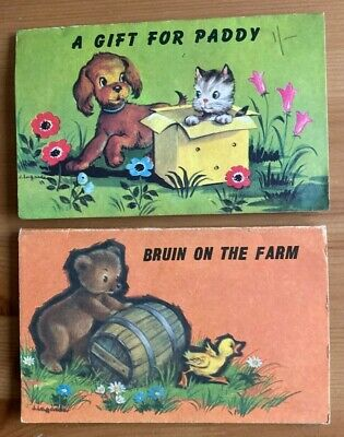 £14.99 • Buy BROWN WATSON POP UP BOOKS X 2 - A GIFT FOR PADDY & BRUIN ON THE FARM (38 & 59)