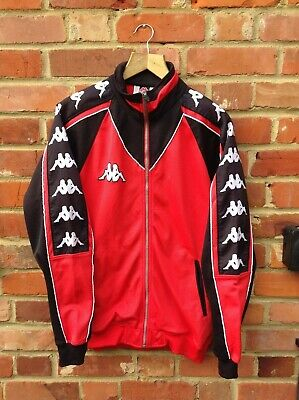 Vintage Kappa Taped Jacket Size Large Mens - Tracksuit Top 90s  • 34.95£
