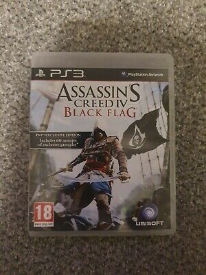Assassins Creed 4 Black Flag PS3 • 5£