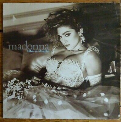 Madonna - Like A Virgin 1985 Vinyl Lp. Wx20. • 0.99£