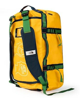 The North Face X Brain Dead Basecamp Duffel S Yellow Brand New With Tag Tnf • 202.60£
