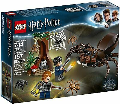 AU66.99 • Buy New Lego 75950 Harry Potter Chamber Of Secrets Aragos Lair Spider 2 Minifigures