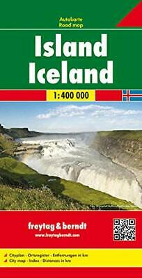 Iceland 2018, Sheet Map, Folded,  By Freytag & Berndt • 11.87£