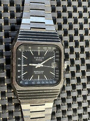 TISSOT F1 Seastar Cal. 2030 Vintage Gent's Watch Not Working • 31£