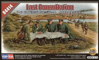 Hobbyboss 84414 1:35th Scale German Last Consultation Figure Set • 11.99£