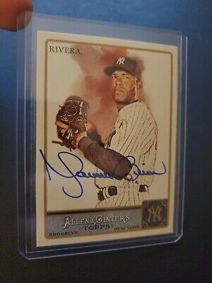$ CDN191.39 • Buy Mariano Rivera Signed #173 2011 Allen & Ginter's Autographed Yankees HOF Auto