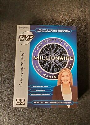 £9.94 • Buy IMAGINATION - WHO WANTS TO BE A MILLIONAIRE - MULTIPLAYER DVD GAME 10+ 2-4 Play