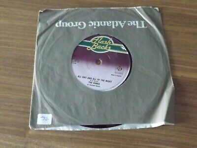 The Kinks - 'You Really Got Me/all Day And All Of The Night' 7  Vinyl Single (ex • 5£