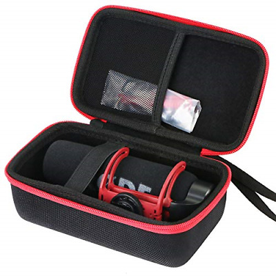 Aenllosi Storage Case For Rode VideoMic GO On Camera Microphone - Black/Redonly • 29.23£