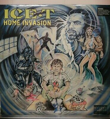 Ice-T - Home Invasion Double LP VINYL Hip Hop  Original Gansta Rap 90s  • 20.99£
