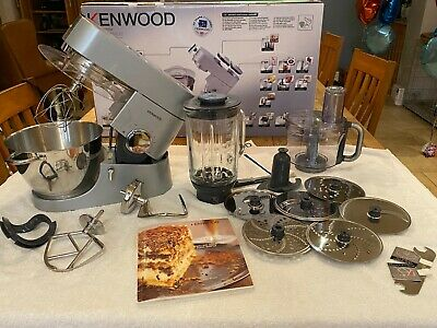 Kenwood Chef Titanium KM010 Food Mixer 4.6L1400W With Processor And Blender  • 207.53£
