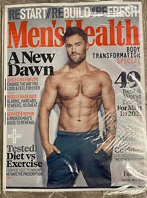 Mens Health Magazine Jan / Feb 2021 Latest Issue • 1.99£