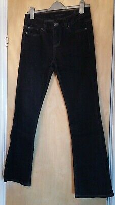 Calvin Klein Jeans - Black Bootcut Jeans With Sequin Detail - US Size 4 (UK 6) • 9.99£