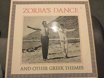 Zorba's Dance And Other Greek Themes 12  Lp Vinyl Anthony Quinn Cover • 1.90£