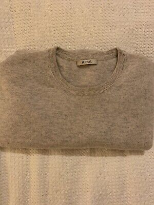 N. Peal Cashmere Jumper Medium - Melange • 40£