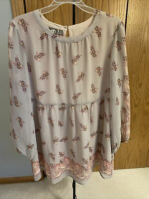 $ CDN19.09 • Buy One September Women's Blouse Top Anthropologie Large EUC