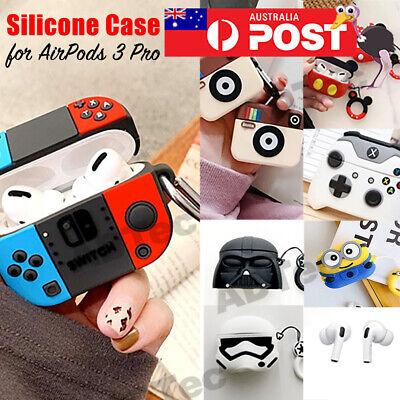 AU11.95 • Buy Cute Airpods 3 Pro Shockproof Silicon Gel Case Cover Airpod Nintendo Cartoon