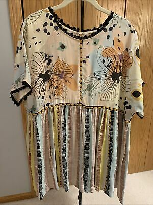 $ CDN101.88 • Buy Anthropologie Conditions Apply Kynsa Tunic Large NWT
