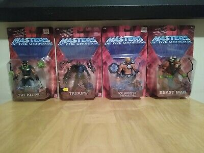 $125 • Buy MOTU Masters Of The Universe He-Man 200x 4 Figure Lot Factory Sealed