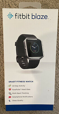 $ CDN54.74 • Buy Fitbit Blaze Smart Fitness Watch, Black, Silver, Large, Used Good Condition