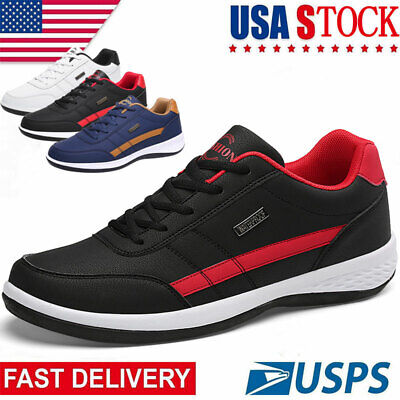 $26.99 • Buy Men's Athletic Running Shoes Fashion Casual Walking Outdoor Tennis Gym Sneakers