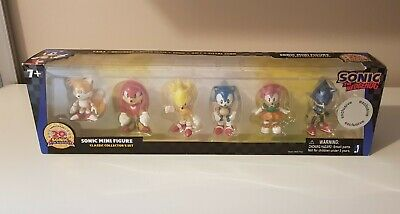 Sonic The Hedgehog Mini Figure Collectibles 6 Pack 20th Anniversary Toys R Us • 9.99£