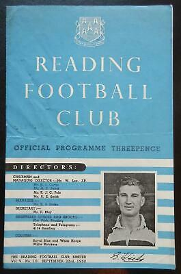 READING V SOUTHEND UNITED - 1950/51 - Division 3 South  • 5.95£