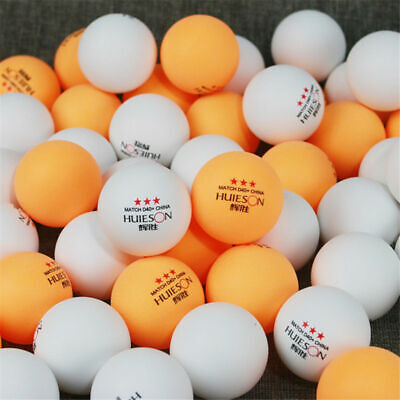 AU15.13 • Buy Table Tennis Balls Ping Pong Balls Yellow/White 40mm ABS 2 Colors Sports