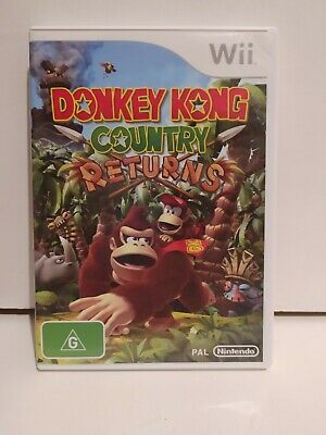 AU20.61 • Buy Donkey Kong Country Returns Wii Game PAL **FREE TRACKED POSTAGE**
