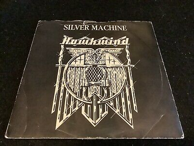 Hawkwind Silver Machine / Seven By Seven. United Artists UP35381 Vinyl 7  Single • 11.50£