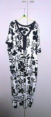 New Without Tags  16 18 Full Length Kaftan  Dress Nightdress Carol Hochman • 8.50£