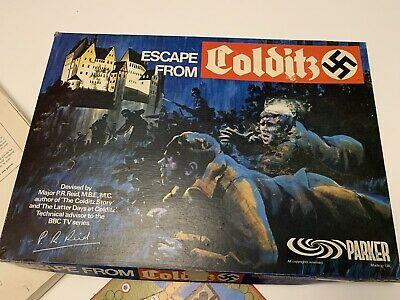 ESCAPE FROM COLDITZ THE BOARD GAME : Parker Games 1973 • 40£