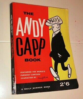 Vintage 1950s ANDY CAPP Comic Strip Book By Smythe / Daily Mirror • 6£