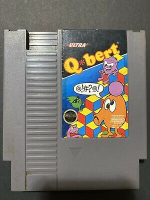 $ CDN5.27 • Buy Qbert (Nintendo Entertainment System, 1985) - Cartridge Only