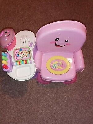 Fisher Price Girls Toys Activity Seat Pink • 10£