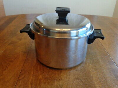 $ CDN44.34 • Buy Vintage Kitchen Queen 5-ply Stainless  3 Quart Saucepan W/lid Made In U.s.a.
