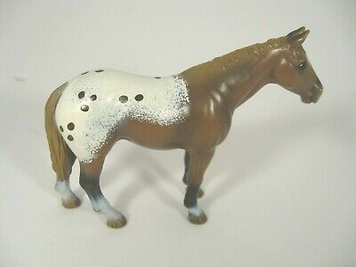 Schleich Germany 2002 Brown And White Spotted Appaloosa Mare Horse Retired • 10.85£